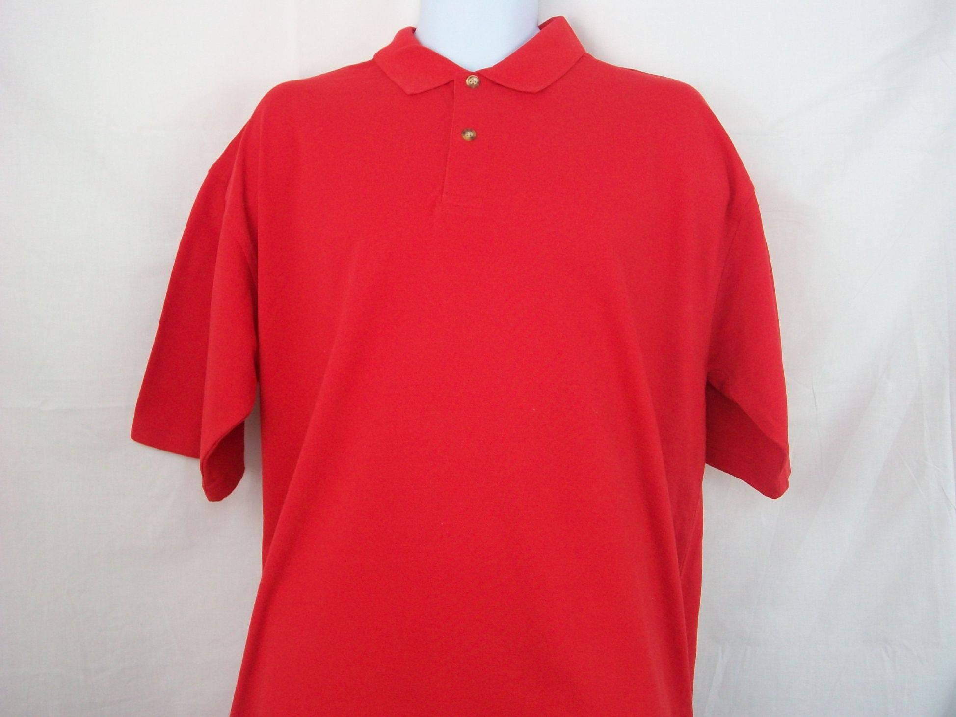 Polo shirt design your own - Design Your Own Red Polo Shirt Size Xl Only